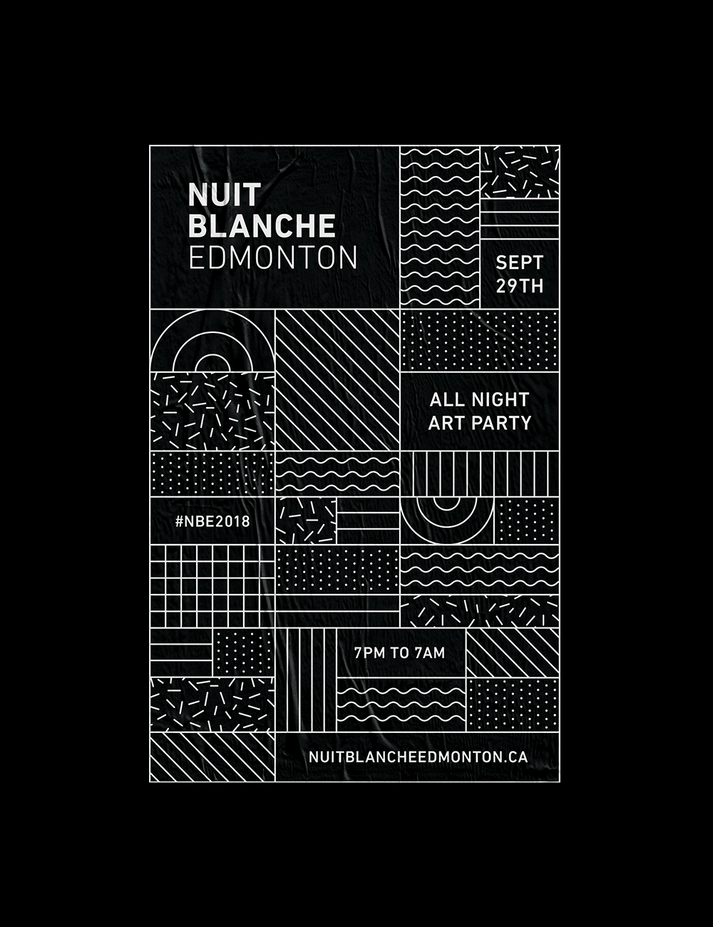 Nuit Blanche Poster
